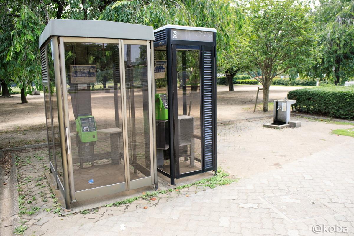 公衆電話 車椅子公衆電話 手洗い・水飲み場│施設の写真│木場公園バーベキュー広場