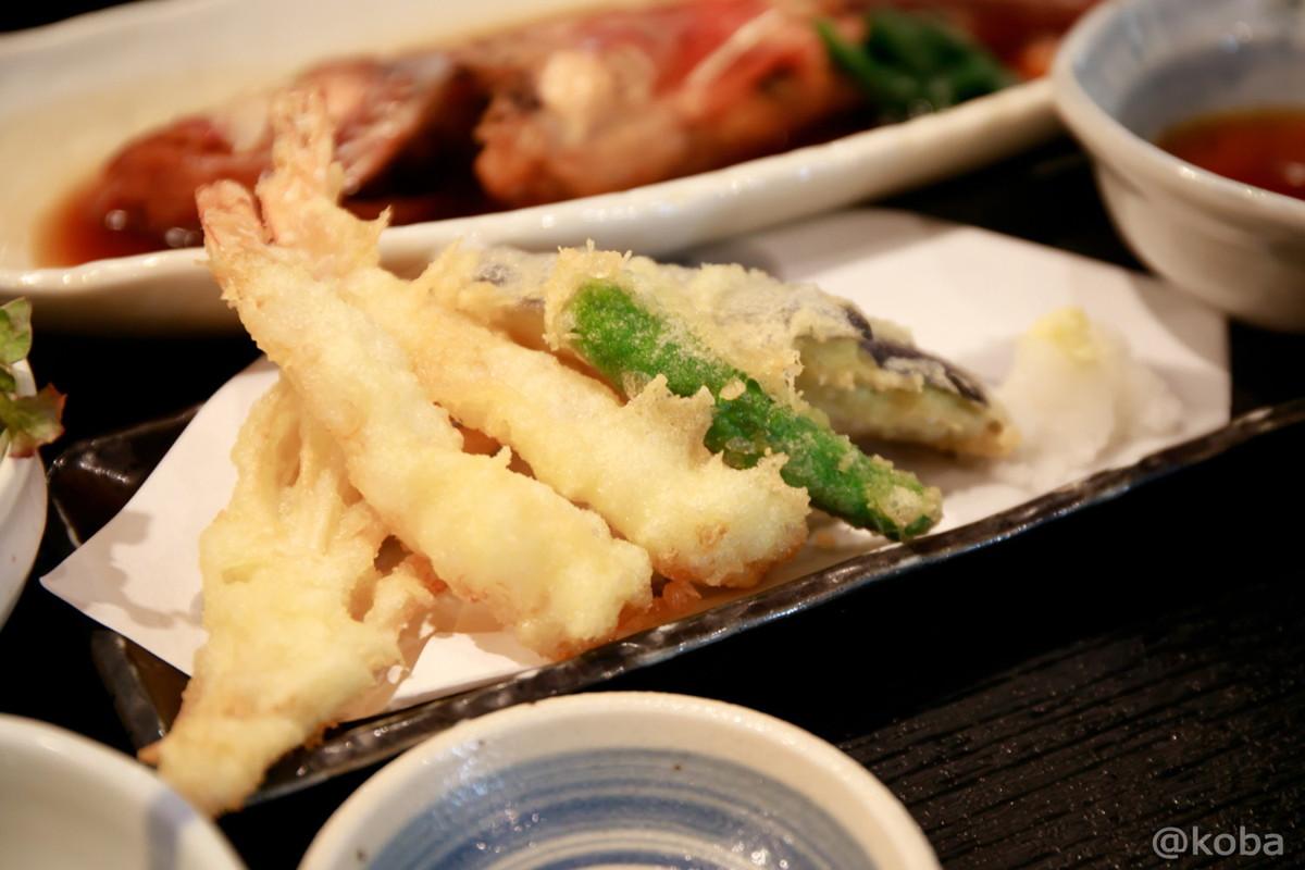 天ぷら│わか月(わかつき)│和食ランチ│鮮魚・酒肴・地酒 日本酒│東京│小岩ブログ