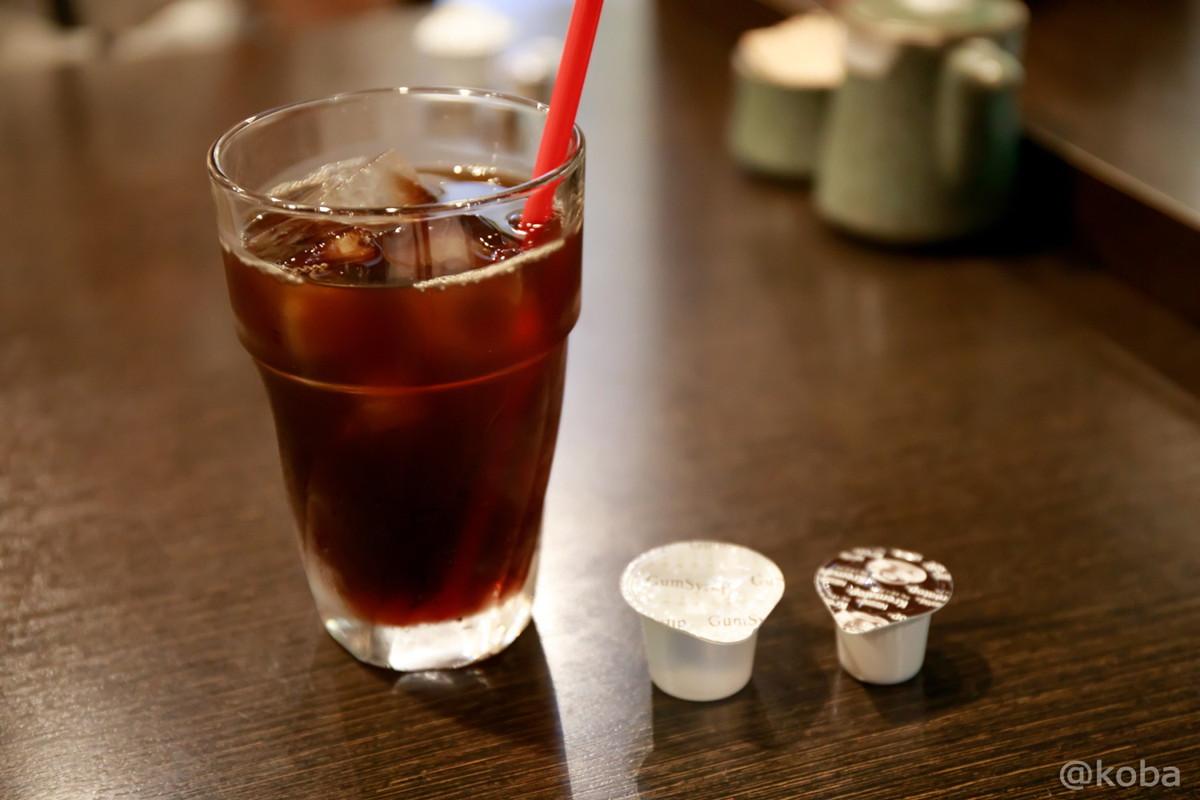食後のアイスコーヒー ホットかアイスを選択│わか月(わかつき)│和食ランチ│鮮魚・酒肴・地酒 日本酒│東京│小岩ブログ