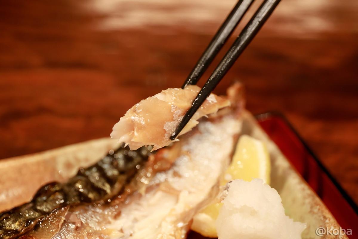 脂の乗ったサバ!美味しい!│福島(ふくしま)│和食ランチ│魚料理│東京お洒落なお店│新小岩ブログ