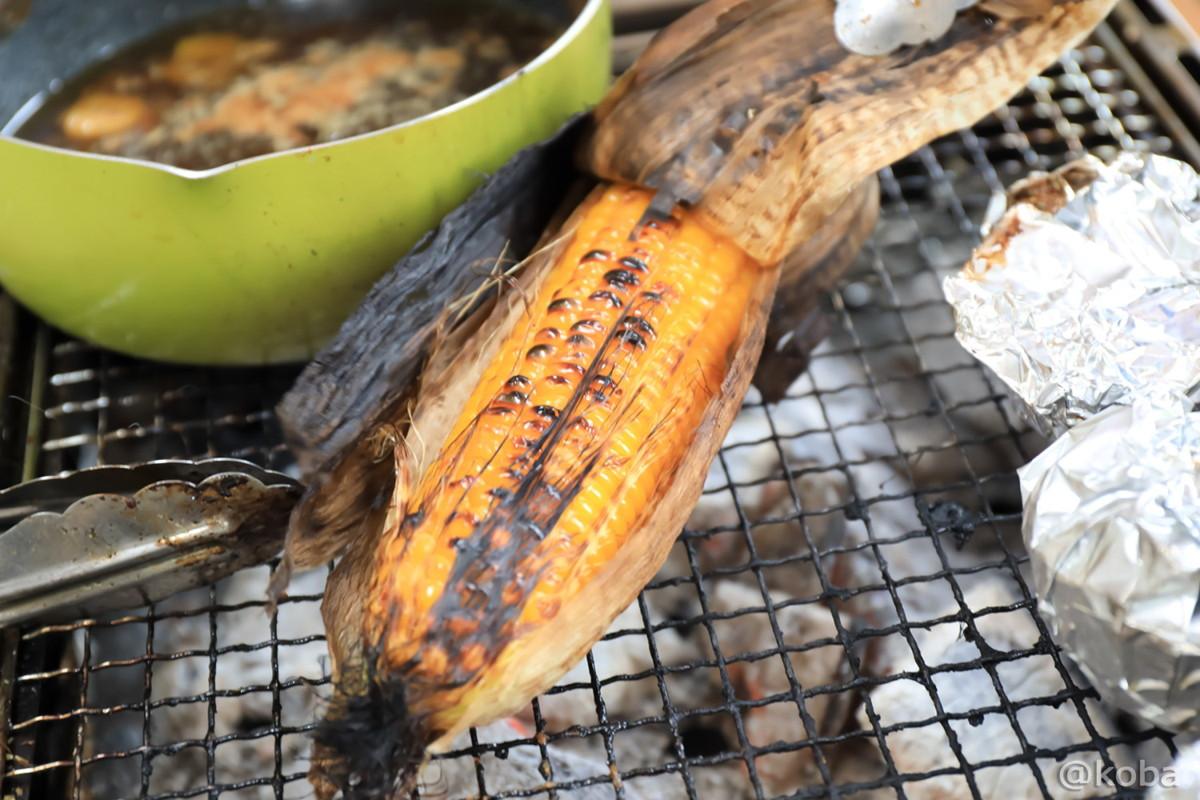焼きトウモロコシの写真│木場公園バーベキュー広場│東京都江東区平野│BBQブログ