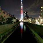 東京スカイツリー「空の日」 十間橋より