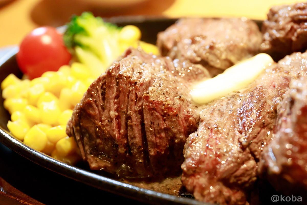 ステーキの写真│肉の村山(にくのむらやま)│肉の日│ステーキ&ハンバーグ専門店│東京江戸川区│葛西ブログ