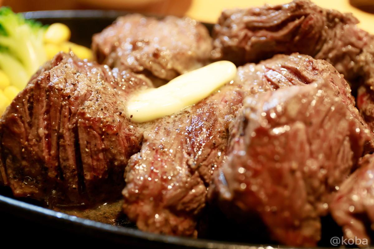 Texasステーキ400gの写真│肉の村山(にくのむらやま)│肉の日│ステーキ&ハンバーグ専門店│東京江戸川区│葛西ブログ