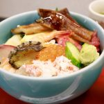 浦安市場「朝ごはん! 海鮮丼・アジフライ定食」 味館食堂(みたてしょくどう)