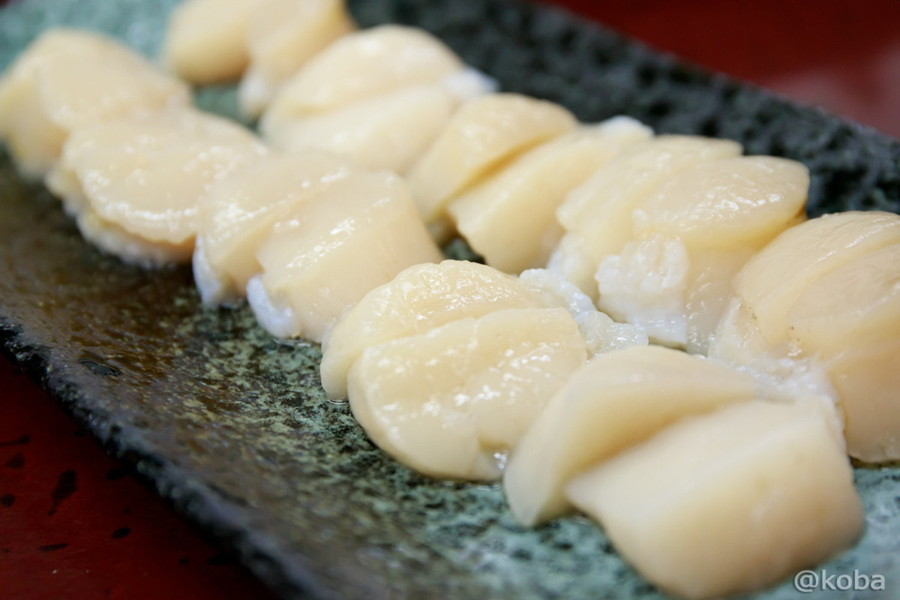 ホタテの貝柱 刺し身│北海道のホタテ│宅飲み・お家ご飯│こばブログ