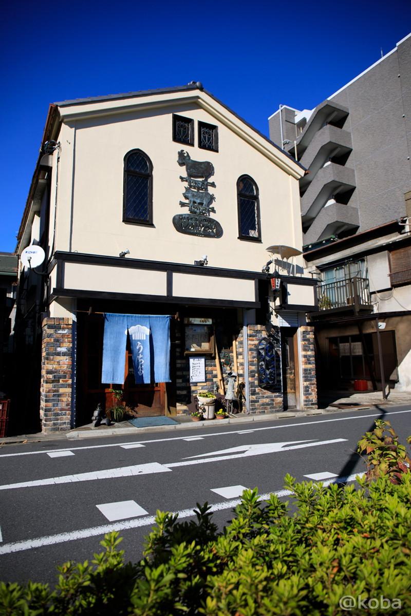 外観の写真│レストランうちだ│肉ランチ・土曜ランチ│東京葛飾区│新小岩│こばブログ