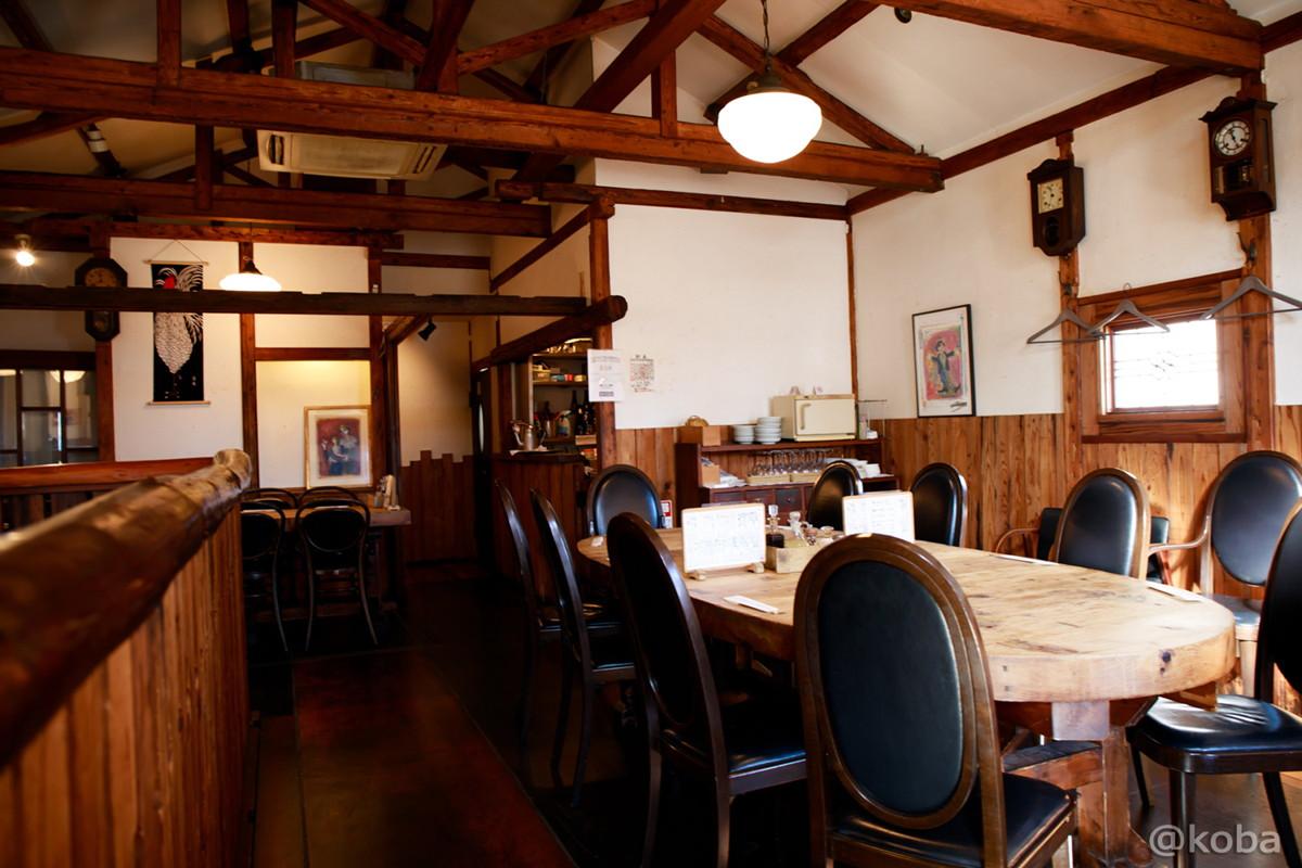 2階 内観の写真 テーブル席│レストランうちだ│肉ランチ・土曜ランチ│東京葛飾区│新小岩│こばブログ