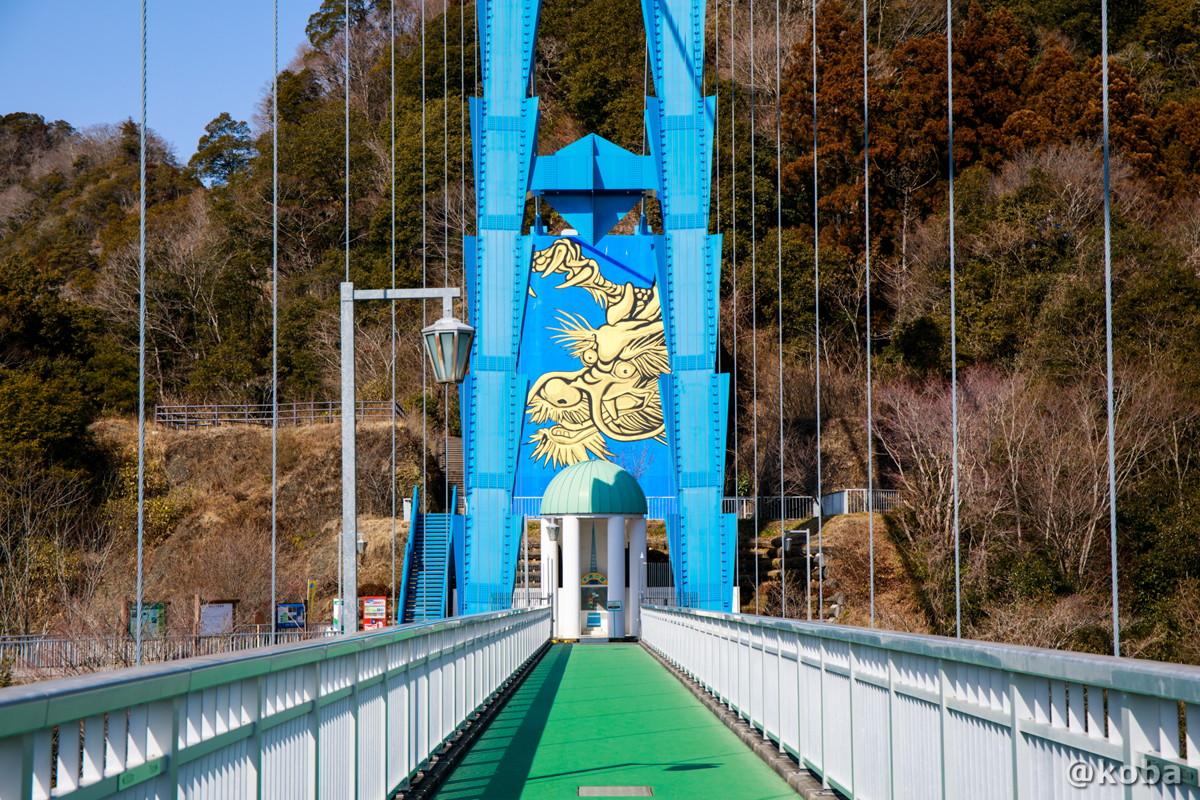 竜神大吊橋(りゅうじんおおつりばし)│茨城県常陸太田市天下野町│こばフォトブログ