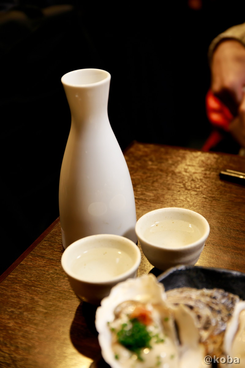 日本酒 熱燗2合│どんきい│和食(魚河岸料理・活魚・ふぐ)居酒屋│東京葛飾区・新小岩駅