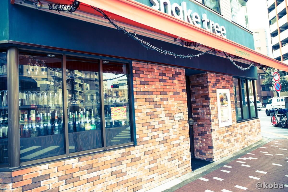 外観の写真│シェイクツリー(shake tree)│ハンバーガー店│東京都墨田区│錦糸町│こばフォトブログ@koba