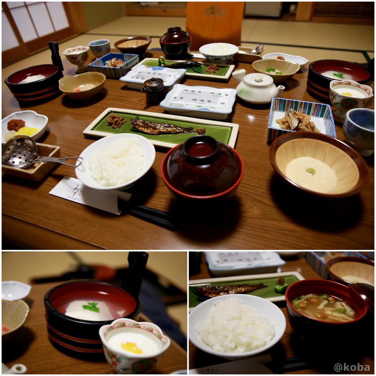 朝食(朝ごはんは、部屋で食べます)│柴原温泉 かやの家(しばはらおんせん かやのや)│日本秘湯を守る会会員の宿│埼玉県秩父郡│こばフォトブログ@koba
