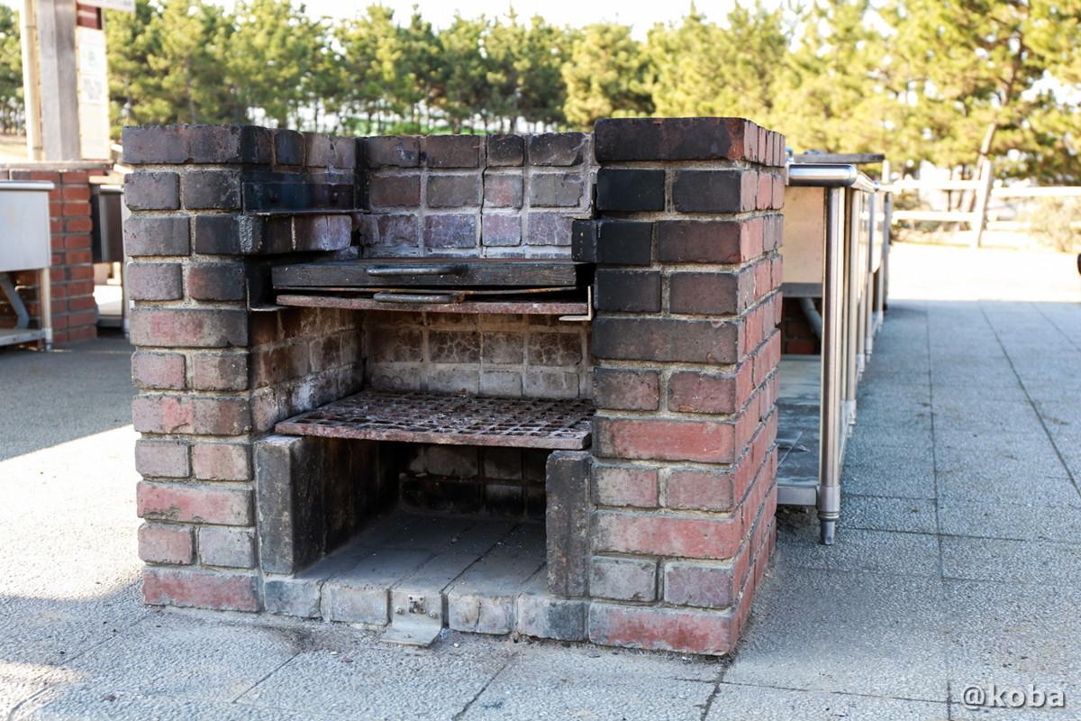 耐火レンガ造りの炉の写真│炉の使い方│バーベキュー BBQ キャンプ│こばフォトブログ@koba