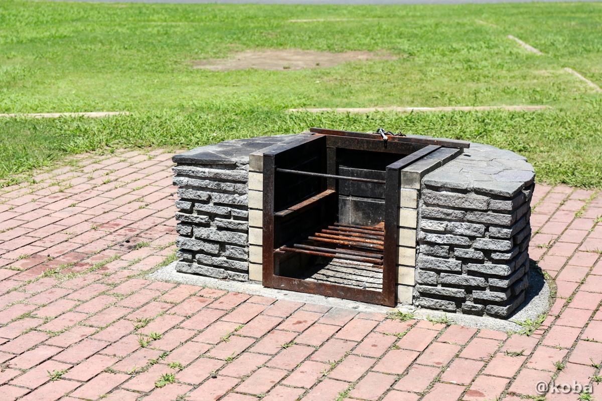 共用で使える炉(かまど)キャンプ場 │若洲公園│江東区