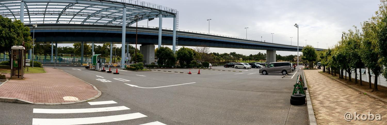 駐車場 パノラマ写真│若洲公園│江東区