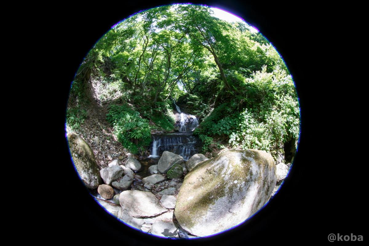 縁結びの滝│EF8-15mm F4L フィッシュアイ USM│みなかみ町猿ヶ京温泉│群馬県│こばフォトブログ@koba