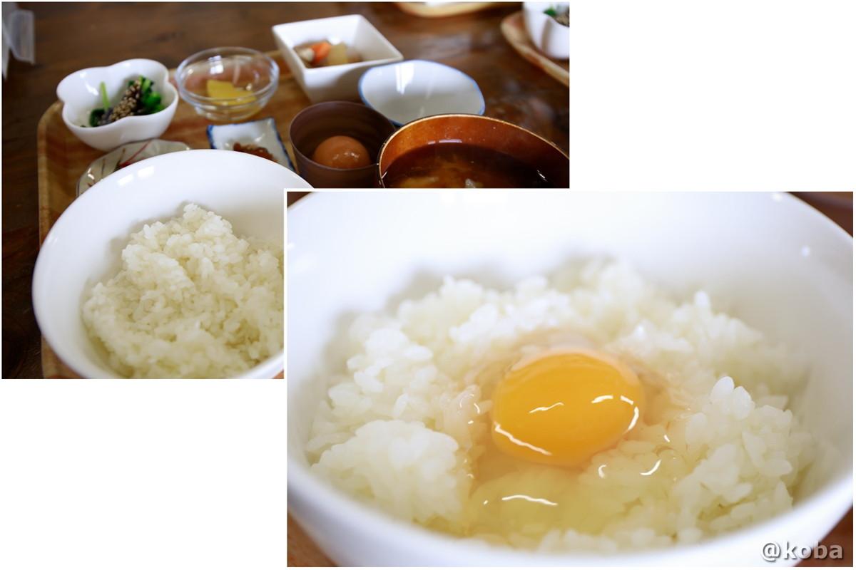朝ごはん 卵かけご飯 たくみの里 香りの家 住所:群馬県利根郡みなかみ町須川 みなかみ町須川849−2