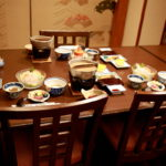 法師温泉 長寿館「朝食・周辺散策」日本秘湯を守る会会員の宿