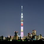 東京スカイツリー「ももいろクローバーZ結成10周年」葛飾区 四ツ木より