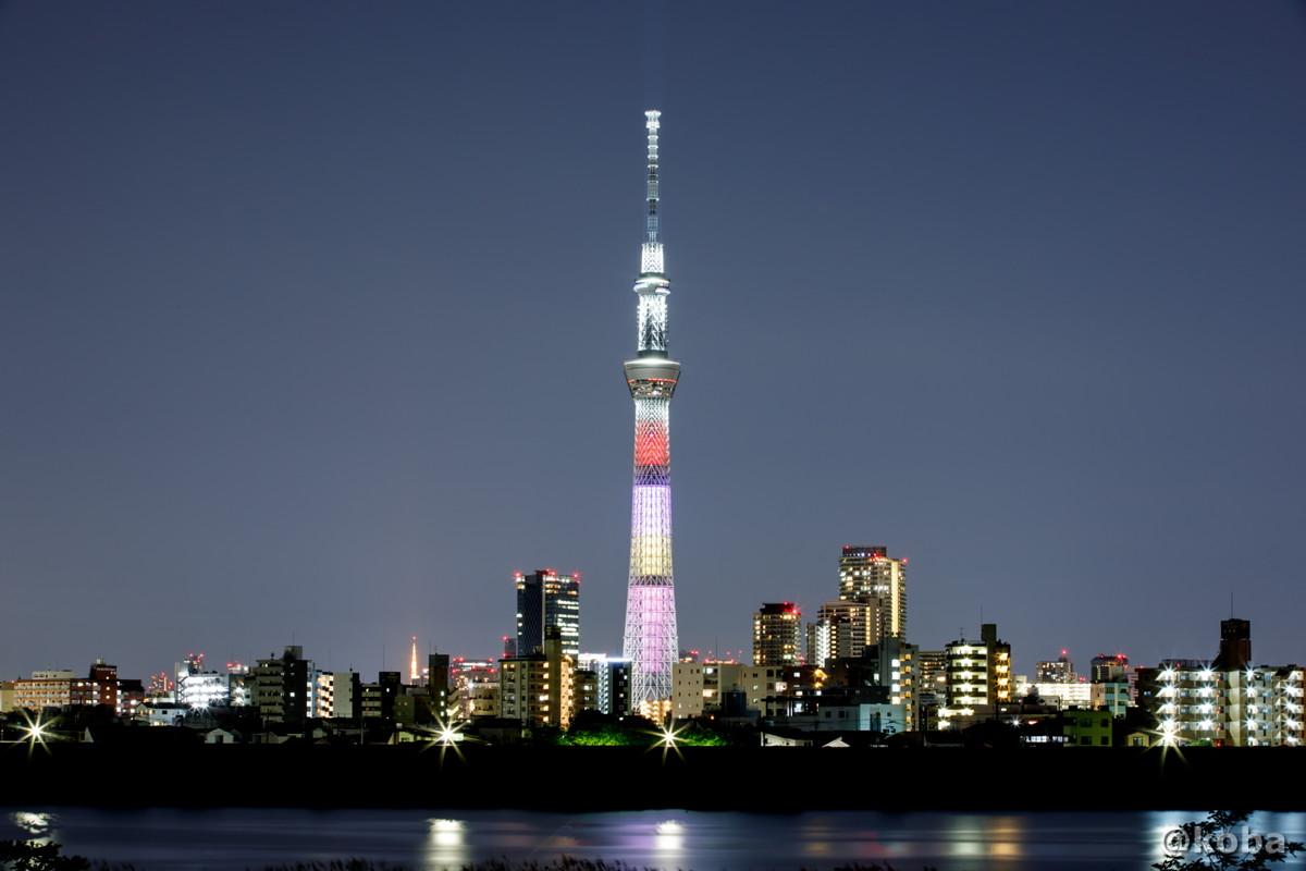 東京スカイツリー│ももいろクローバーZ結成10周年記念 特別ライティング│葛飾区 四ツ木│こばフォトブログ│@koba
