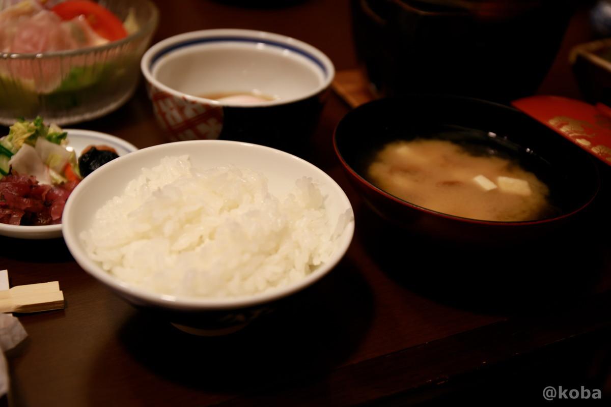 ご飯・味噌汁│朝食│法師温泉長寿館(ほうしおんせんちょうじゅかん)│群馬県