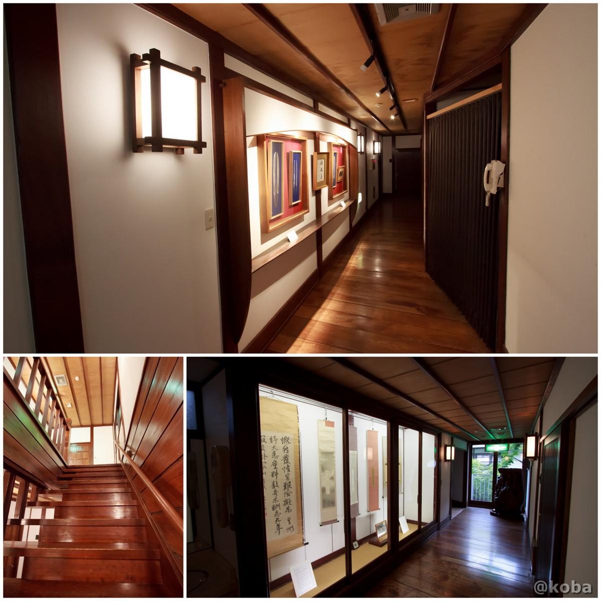 廊下と階段 法師温泉 長寿館 みなかみ町永井 群馬県