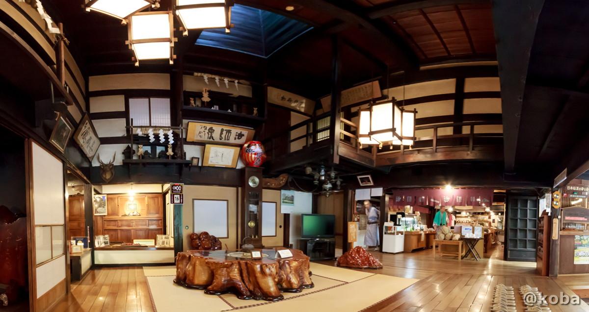 ホールの写真 法師温泉 長寿館 ほうしおんせん ちょうじゅかん 群馬県