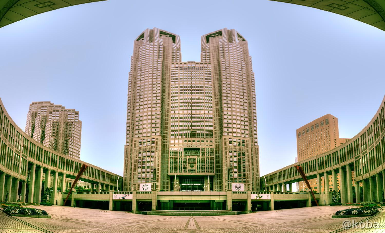 HDR 東京都庁 正面の画像 東京都 新宿区