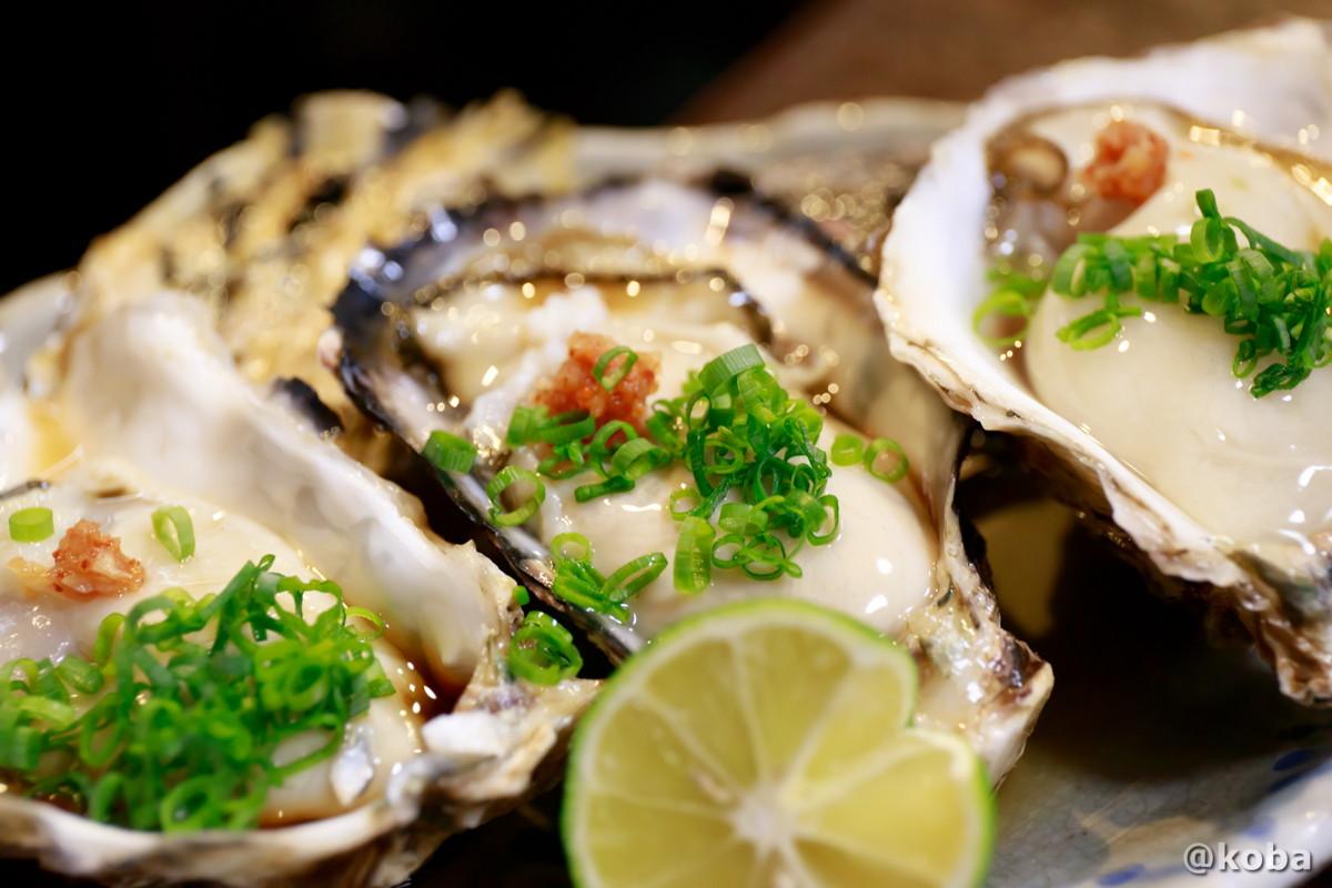 生牡蠣 美味しい! どんきい 和食 居酒屋 東京葛飾区 新小岩 ブログ