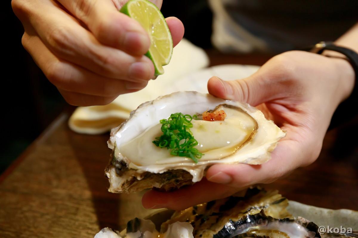 生牡蠣 どんきい 和食 魚河岸料理 活魚 ふぐ 居酒屋 東京葛飾区・新小岩駅