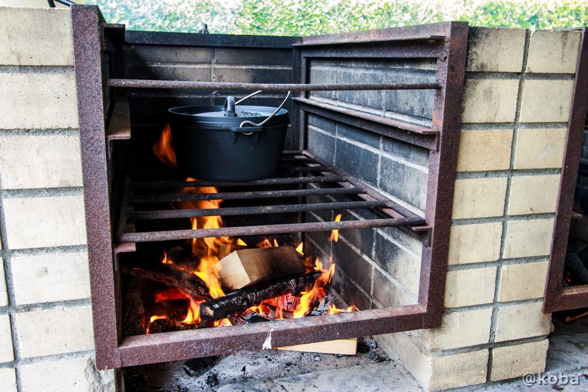 炉の使い方 ダッチオーブン カレーを作る