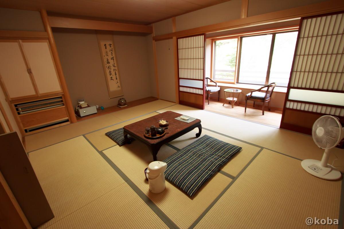 和室10畳 内山峠 初谷温泉(うちやまとうげ しょやおんせん) 長野県佐久市 日本秘湯を守る会