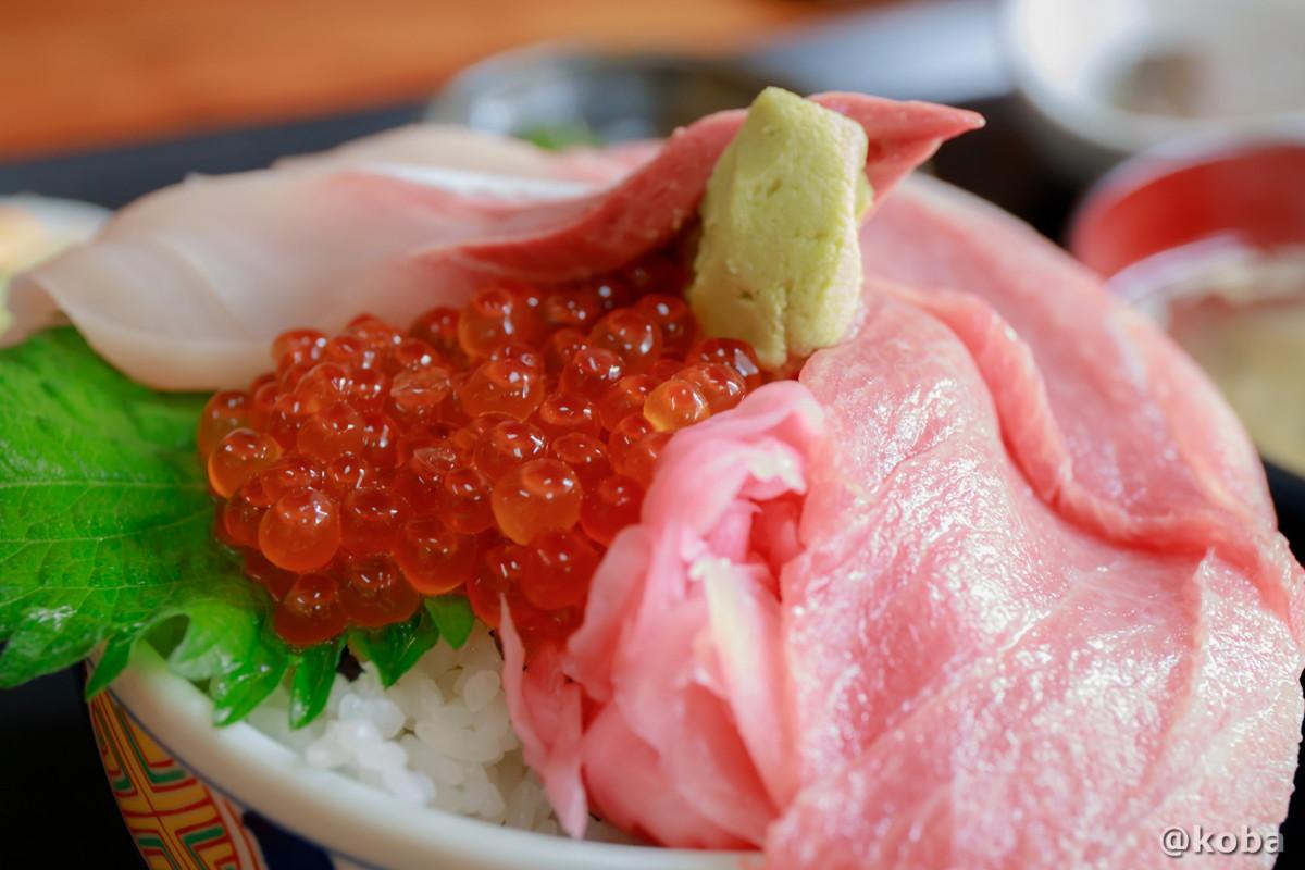 三色丼の写真 浜めし(はまめし) 食事処 銚子 ブログ