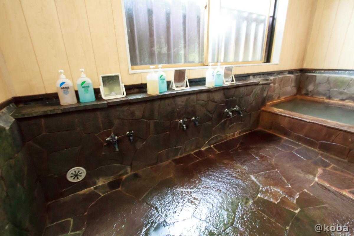 洗い場の写真 稲子湯旅館 温泉 いなごゆおんせん 日帰り入浴