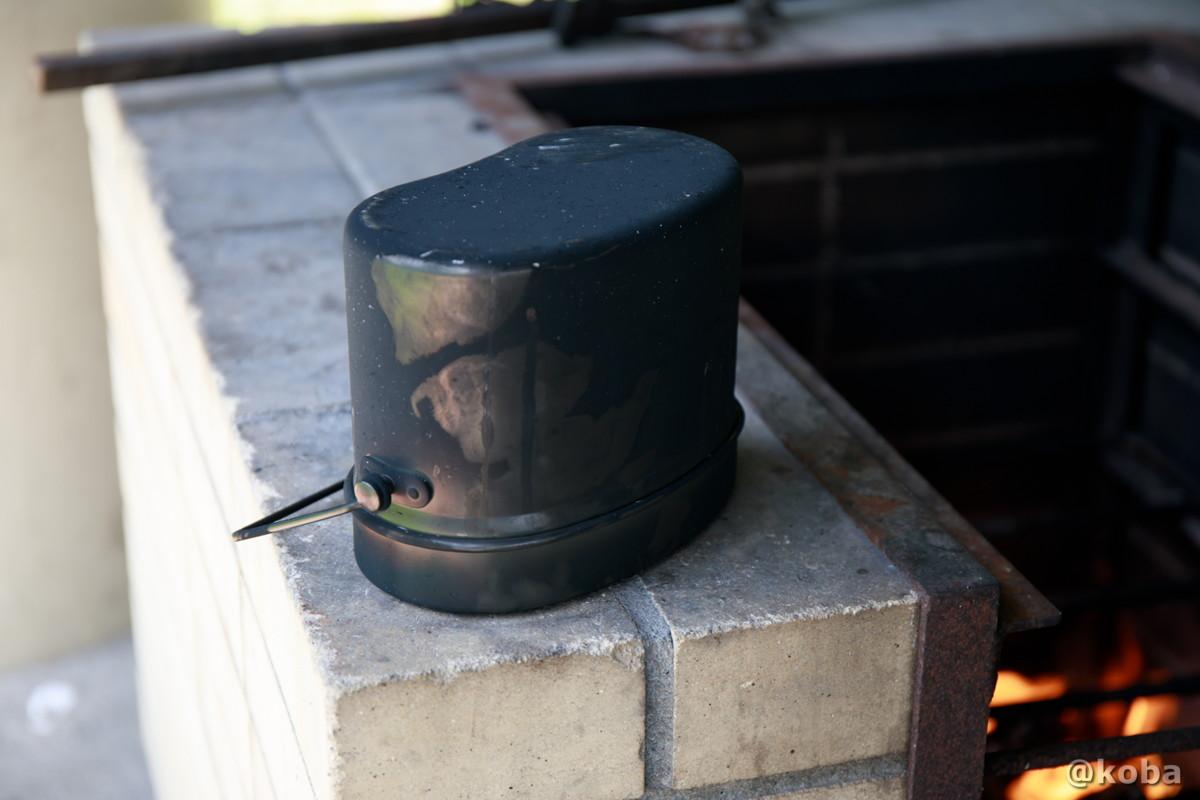 飯盒炊飯 ひっくり返して10分、 完成! 若洲公園キャンプ場 江東区 東京バーベキュー