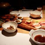 夕食の写真 内山峠 初谷温泉(うちやまとうげ しょやおんせん) 長野県佐久市 日本秘湯を守る会