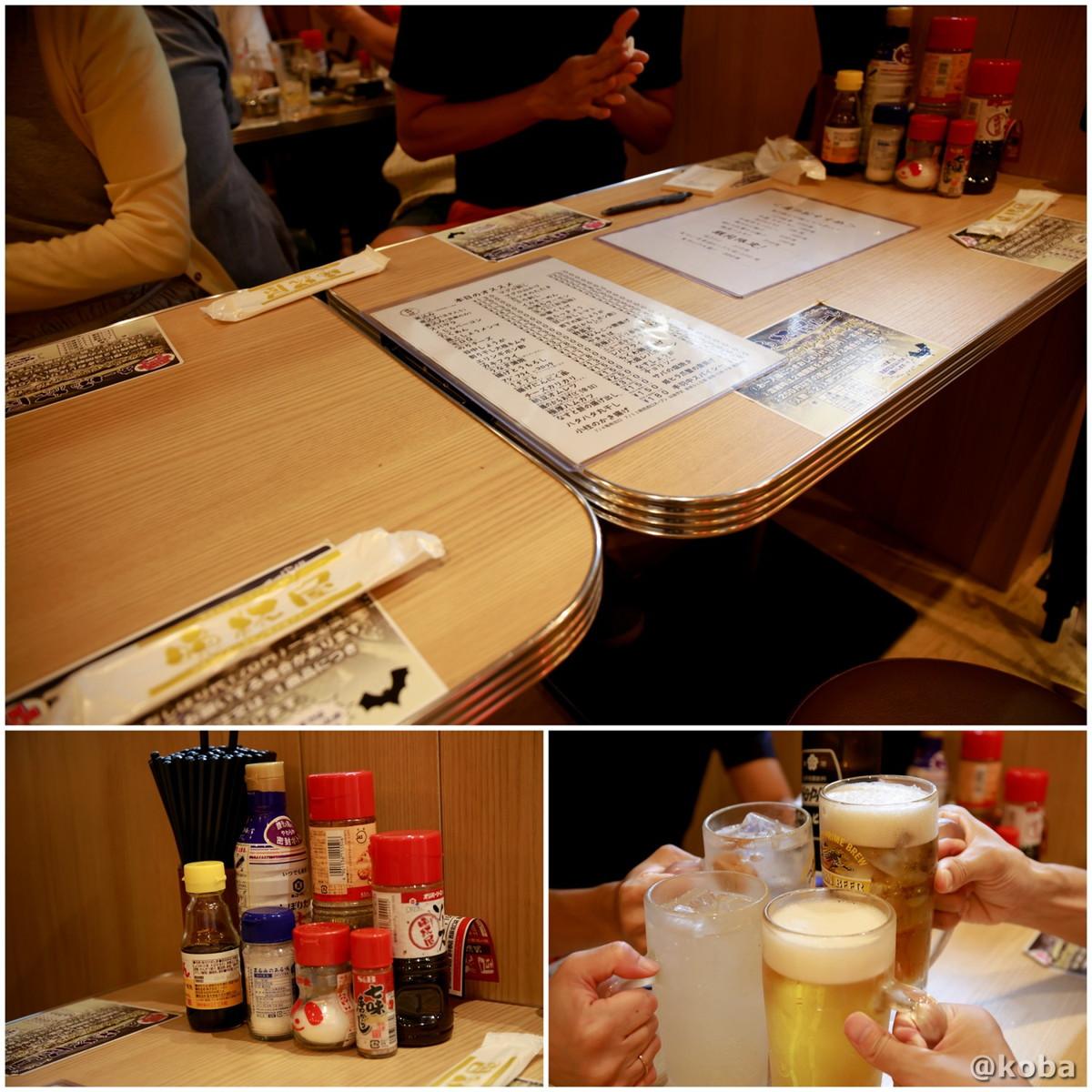 テーブル席の写真 亀戸 晩杯屋(バンパイヤ)激安居酒屋
