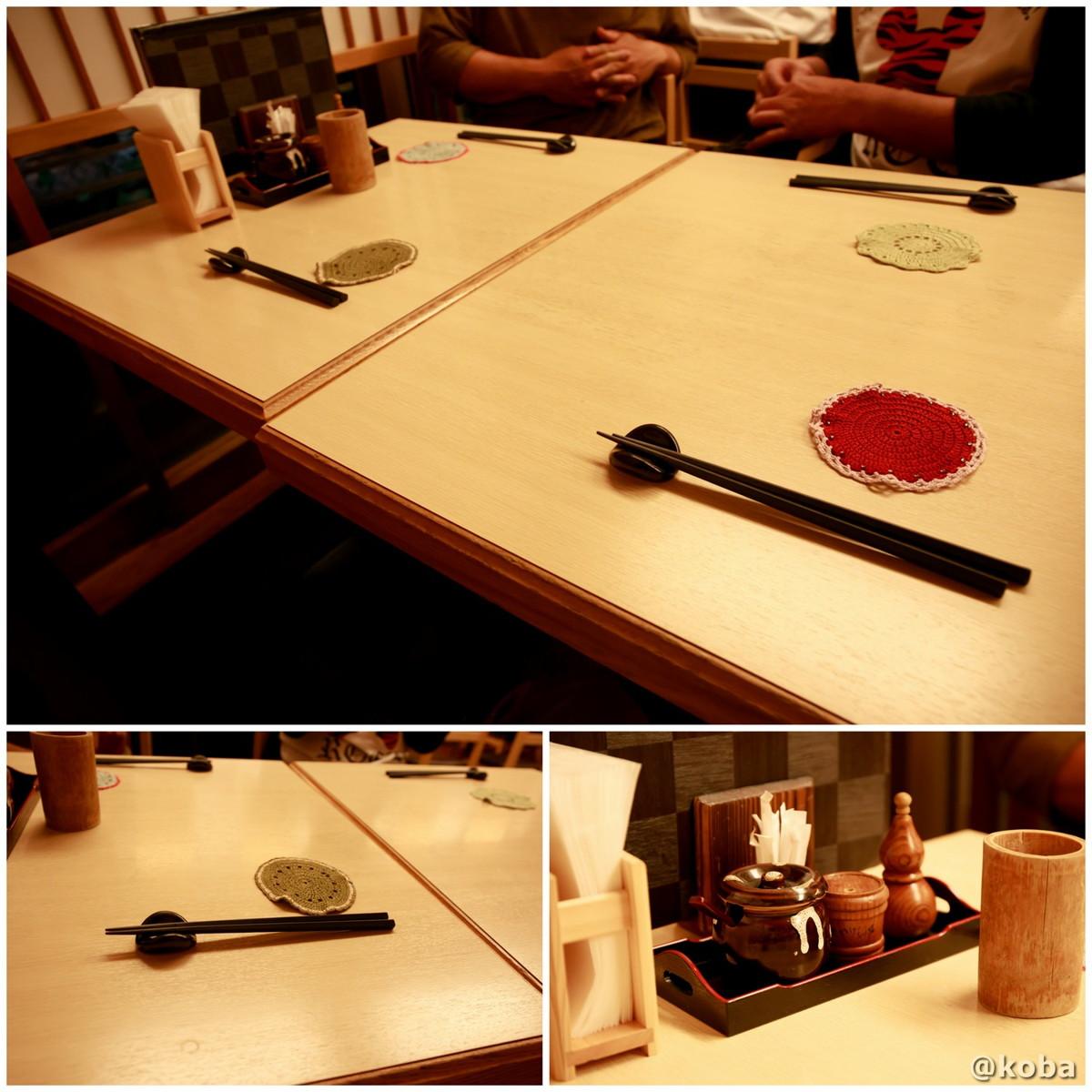 内観 二階テーブル席の写真 人形町 江戸路(えどじ)焼鳥専門店
