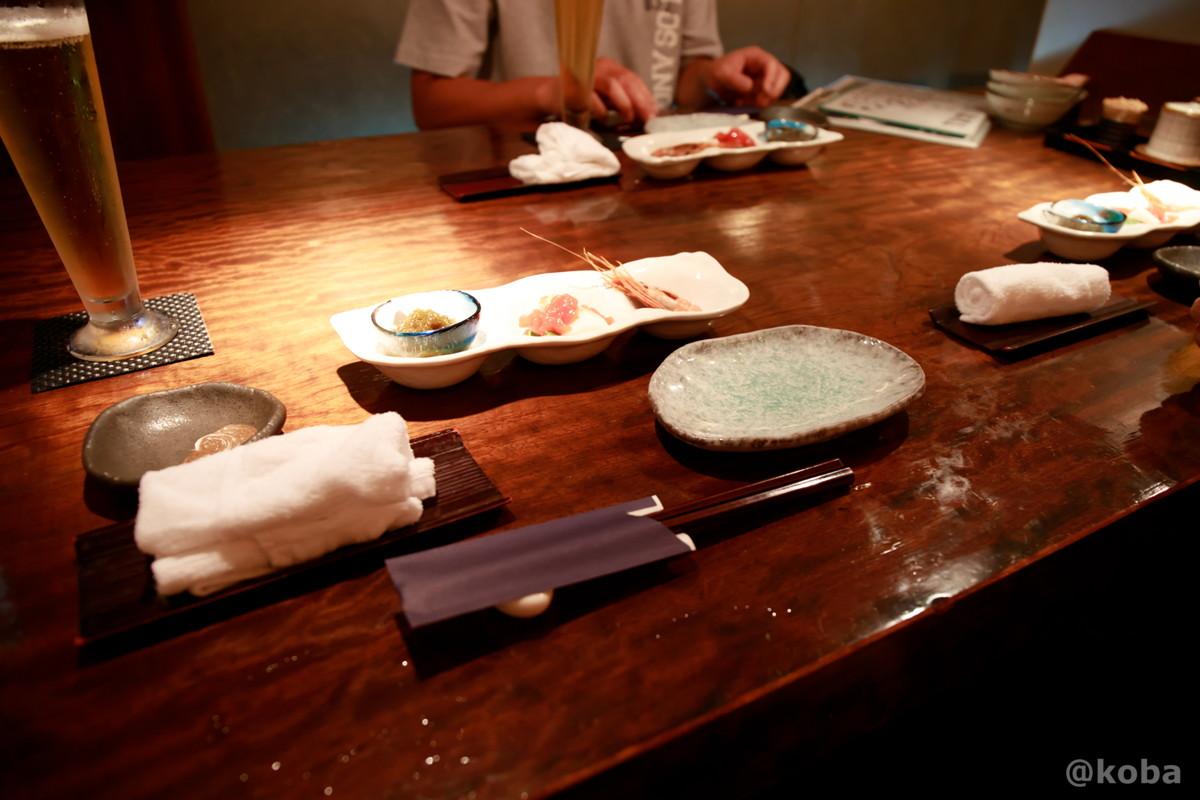 テーブル席 新小岩 福島(ふくしま)和食 海鮮料理 東京都葛飾区