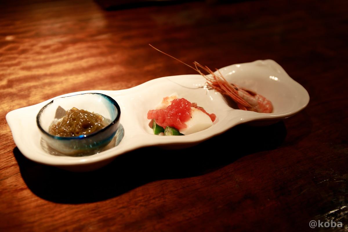お通し 新小岩 福島(ふくしま)和食 海鮮料理 東京都葛飾区
