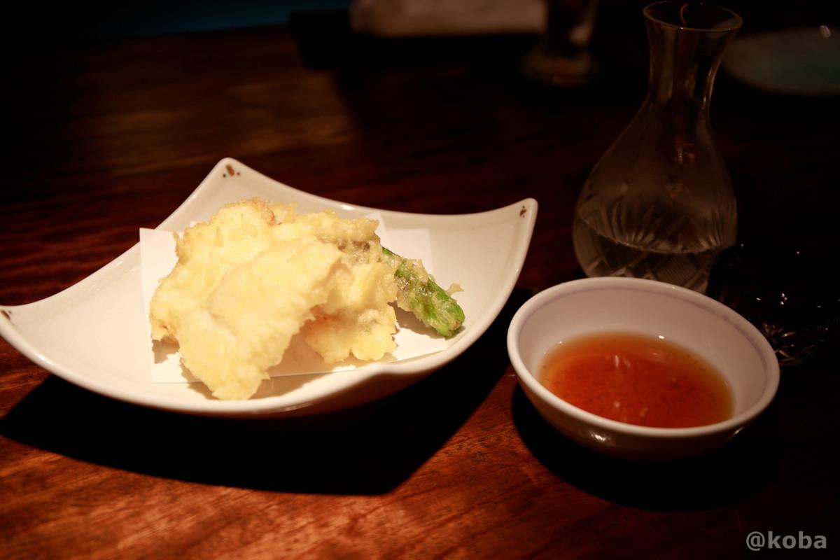 ハモの天ぷら 鱧(はも) 新小岩 福島(ふくしま)和食 海鮮料理 東京都葛飾区