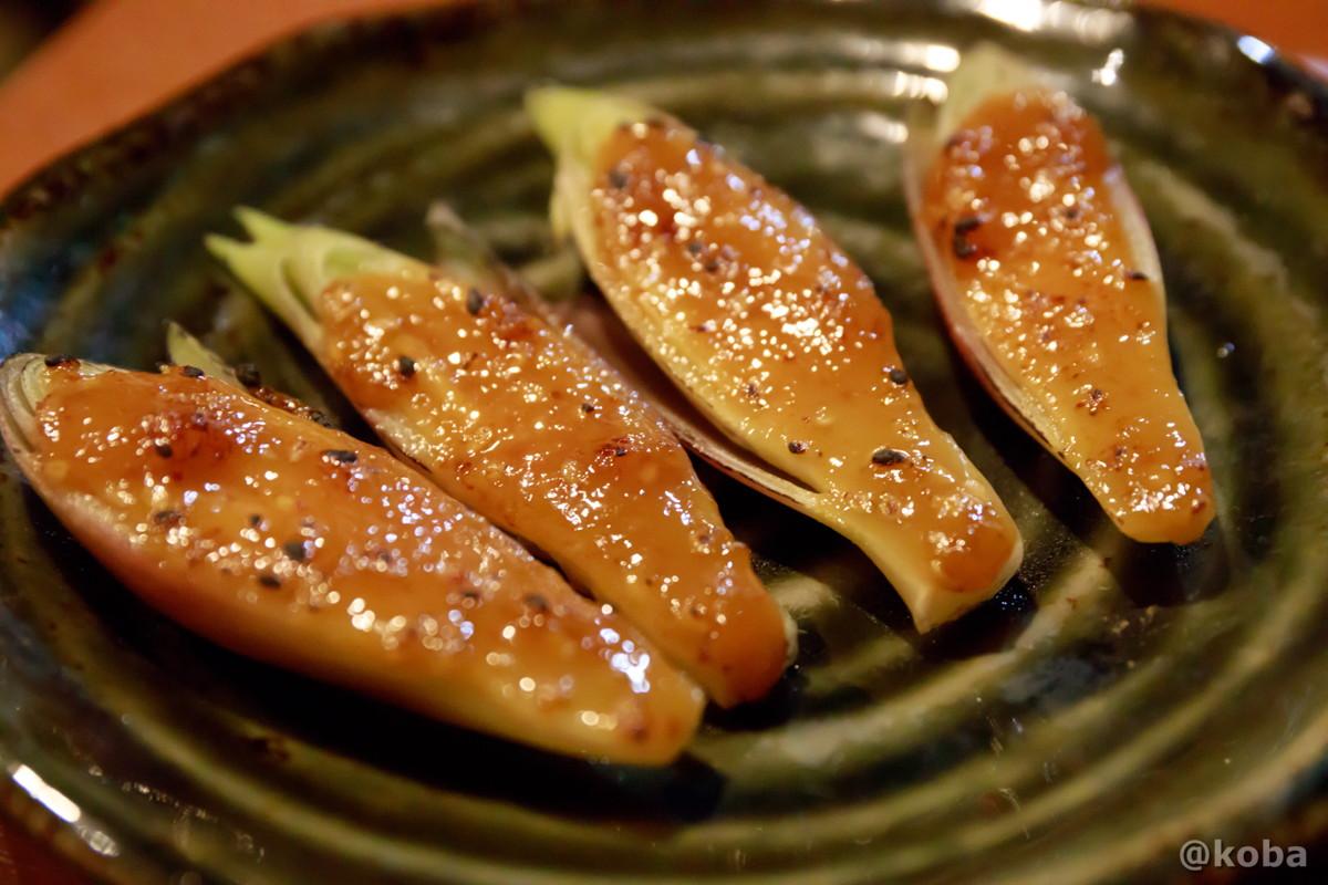 焼き味噌みょうが 450円 錦糸町 しゅはり 石臼挽きうどん 和食 東京