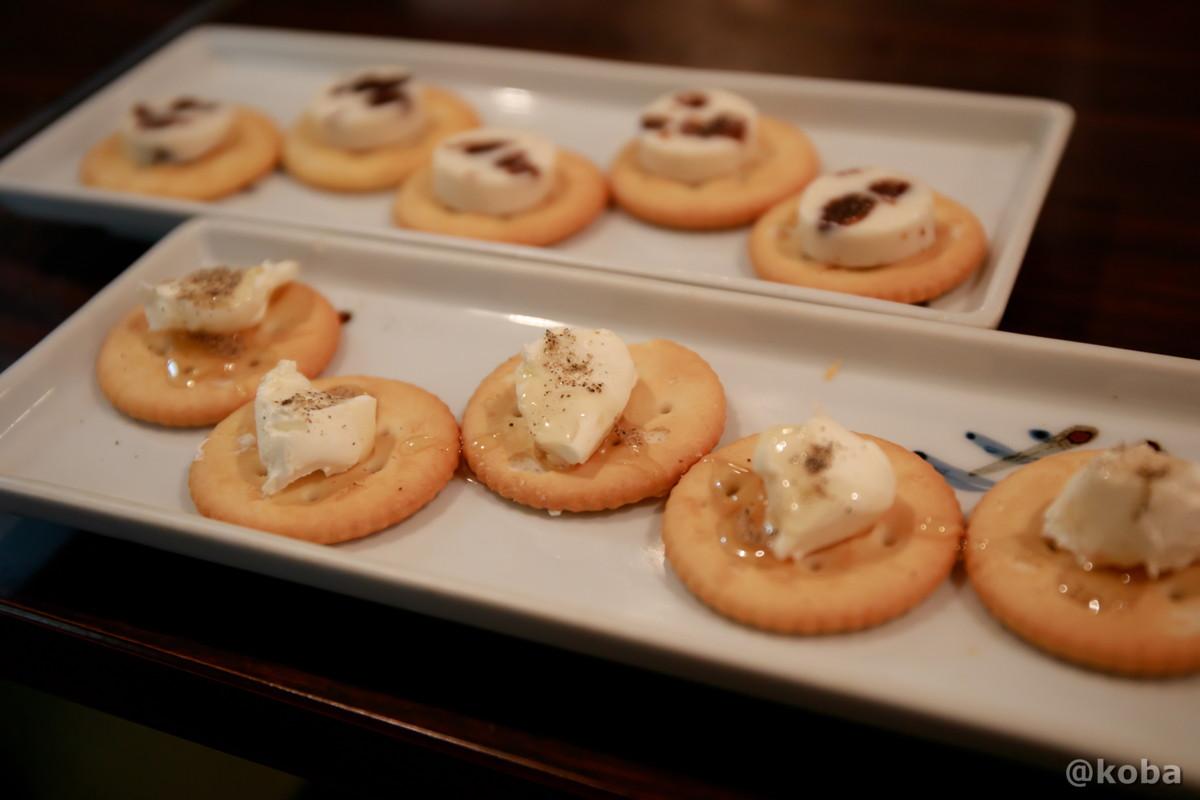 レーズンバター クリームチーズ 人形町 権兵衛(ごんべえ)大衆割烹 和食