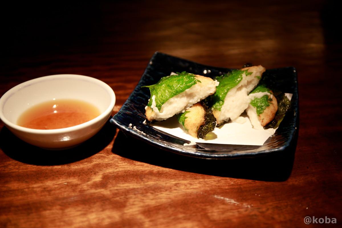 とろろ芋のいそべ揚げ 700円 新小岩 福島(ふくしま)和食 海鮮料理 東京都葛飾区