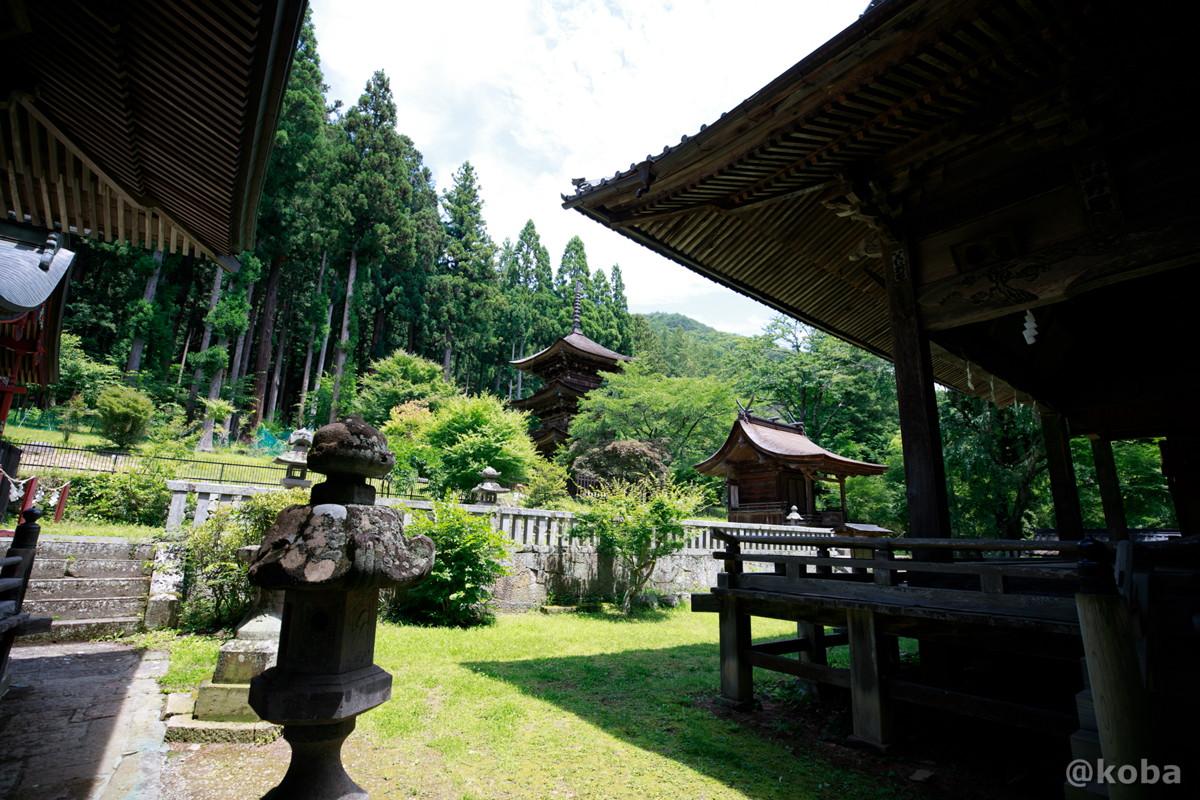 新海三社神社 長野県佐久市