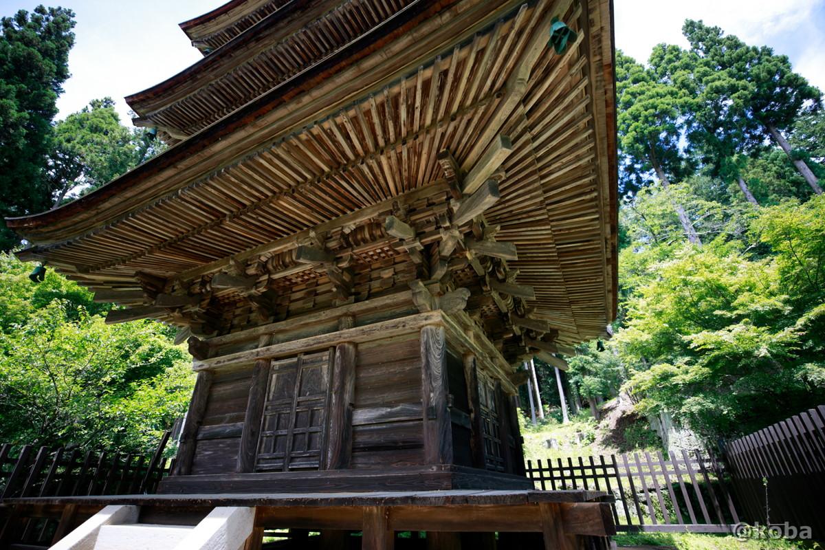 三重塔(重要文化財)新海三社神社 長野県佐久市