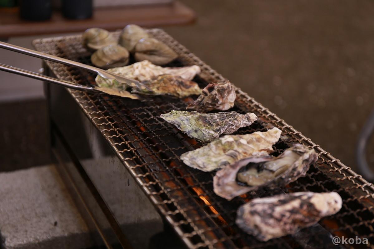 千葉のかき小屋 「しょっぱい!」厚生水産 木更津富士見営業所