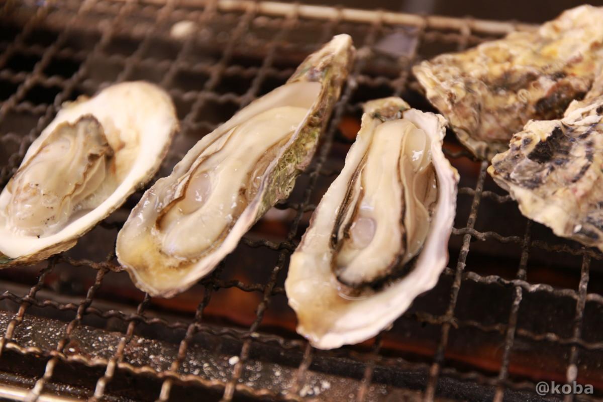 千葉のかき小屋 「しょっぱい牡蠣!」厚生水産 木更津富士見営業所