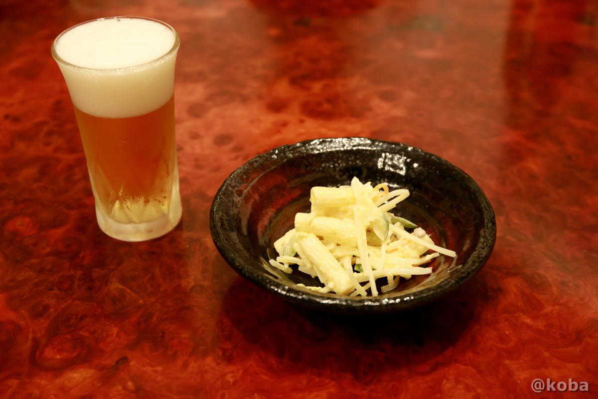 お通し マカロニサラダの写真 玉寿司 東京都葛飾区 新小岩 ブログ
