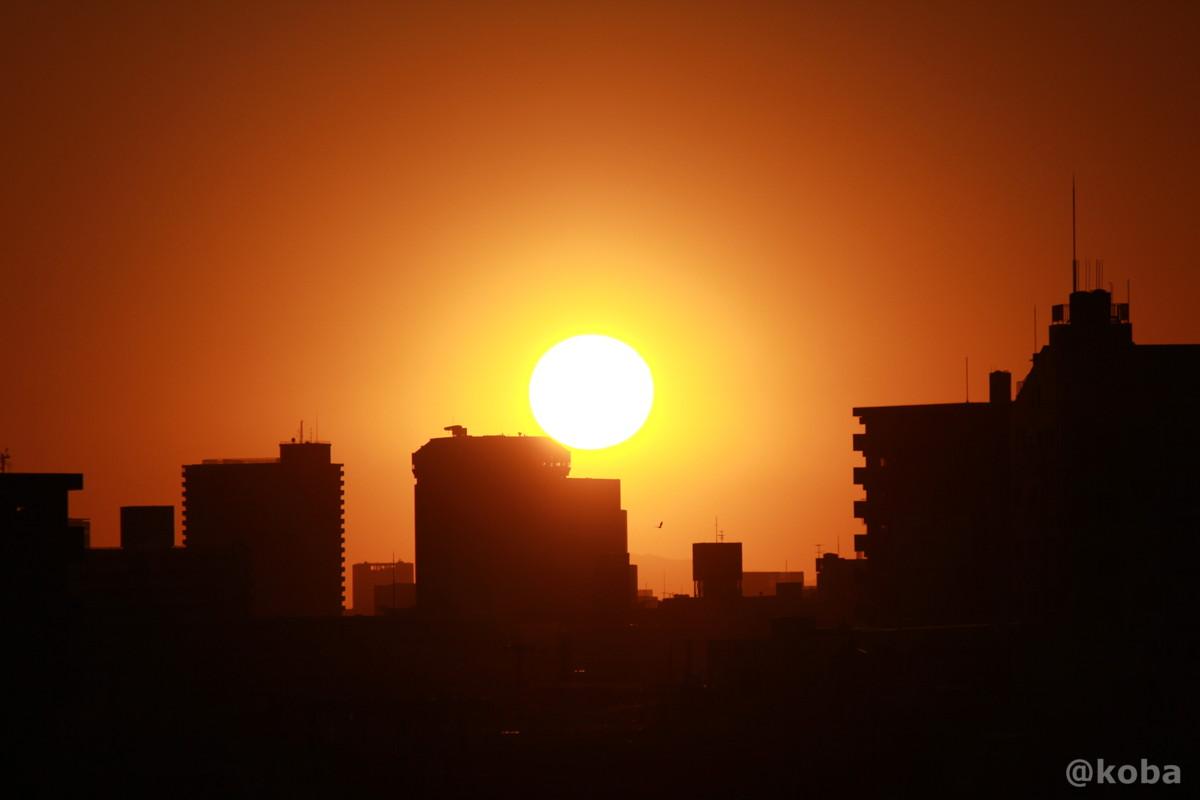 夕日の写真 四ツ木